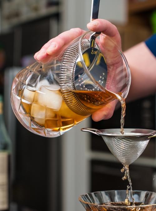 Mixing glas